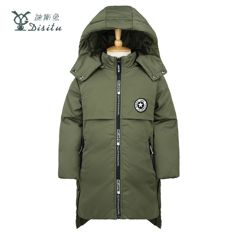 4b8fa1637796 DISITU Brand Winter Down Jacket For Boys 2017 New Boys Thick Duck Down  Jackets Coats Children s