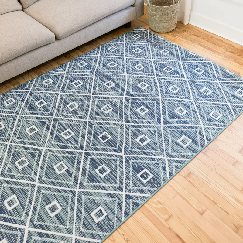 Andes Geometric Teal Indoor Outdoor Area Rug In 2020 Indoor Outdoor Area Rugs Outdoor Rugs Area Rugs