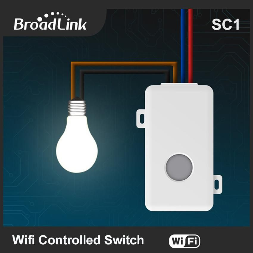 Broadlink SC1 Wifi Controller Light Modules Smart Home Automation ...