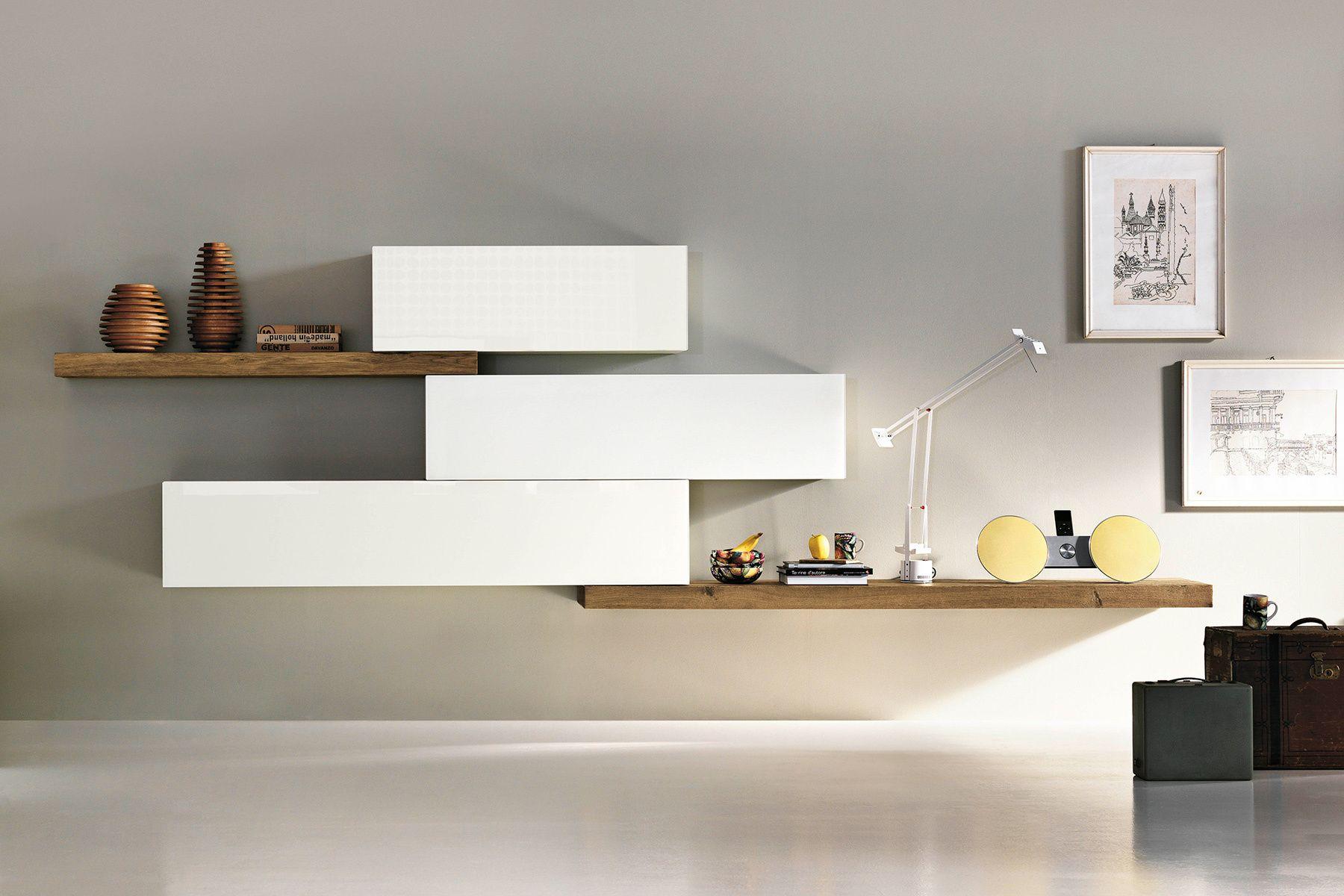 Lago T Decides C Mo Es Tu Casa Livingroom Pinterest Living  # Meuble Tv Sky Blanc