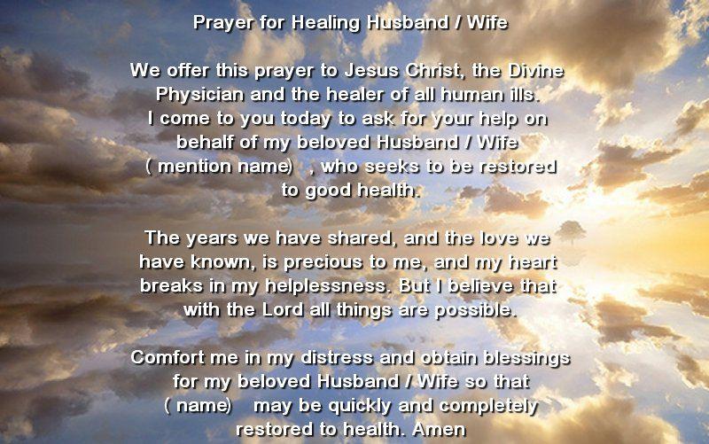 Prayers for Healing the Sick   Serenity Prayer God grant