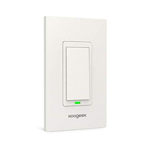 Koogeek Smart WiFi Light Switch for Apple HomeKit with