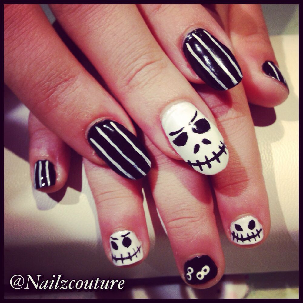 Halloween kids nails | Nails | Pinterest | Kid nails