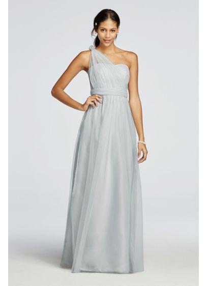 9bd272f49a9 Long Tulle Convertible Versa Bridesmaid Dress F19114