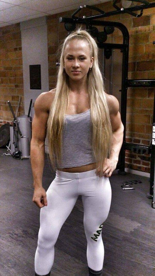 Pretty muscle girls