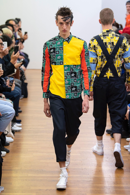 438119de1a Comme des Garçons Shirt Spring 2019 Menswear Paris Collection - Vogue