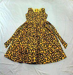 Ankara Dress, African Clothing,African girl dress,