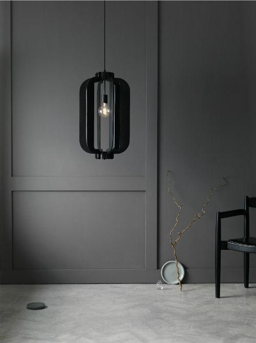 Black to Black - lamps by Pholc / Interior * Minimalism by LEUCHTEND GRAU http://www.leuchtend-grau.de/2015/07/Lampen-von-Pholc.html