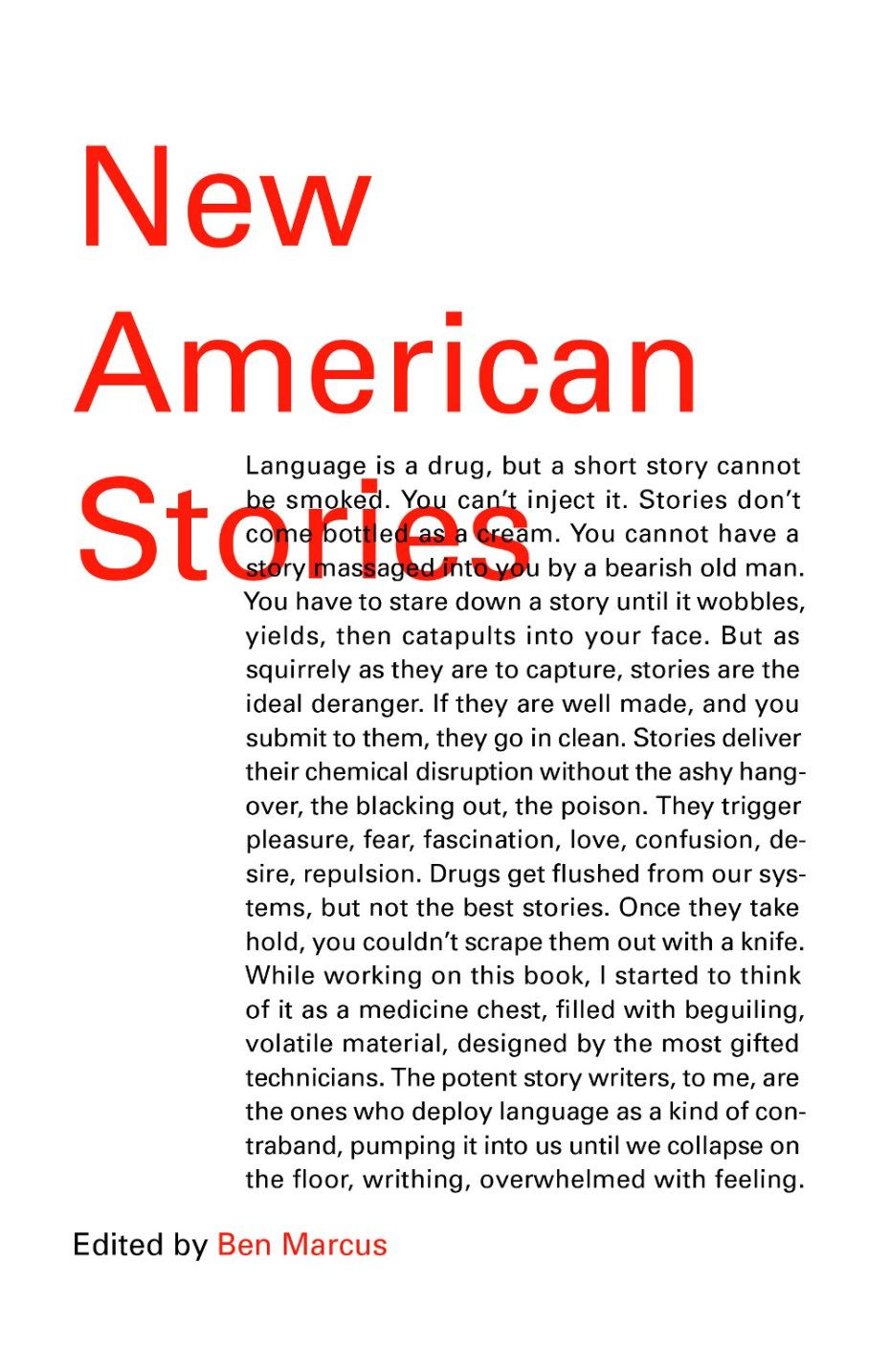 New American Stories design by Peter Mendelsund.