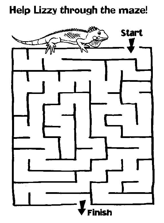 Maze Page - Print your free maze at AllKidsNetwork.com | children\'s ...