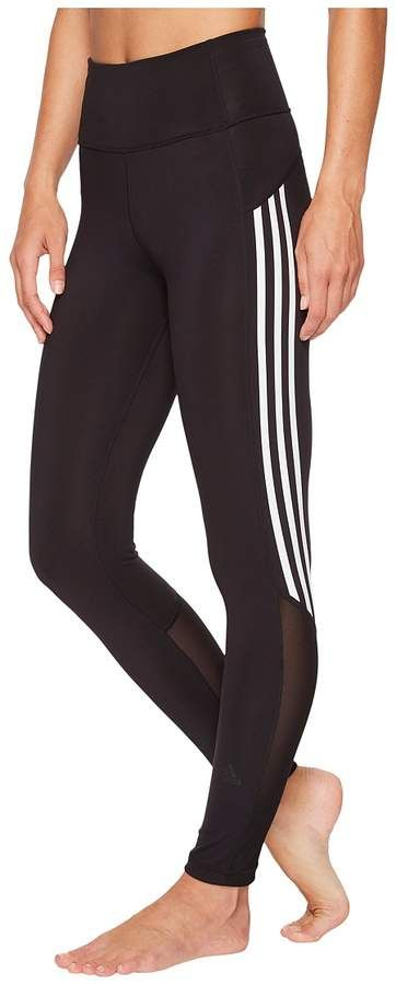 4f72c21a9ef adidas Believe This High-Rise Heathered 3-Stripes 7 8 Tights Women s Workout