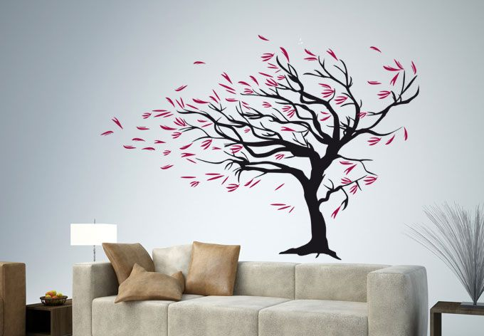 Perfect Walldecals   Tree In Wind