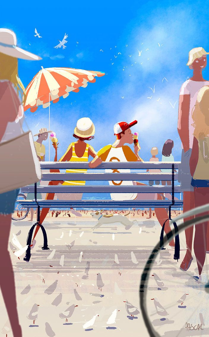 Sunday morning at the pier by PascalCampion on DeviantArt