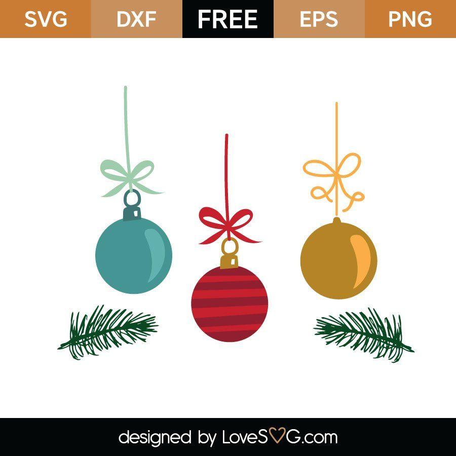 Download Christmas Ornaments | Lovesvg.com | Christmas svg files ...