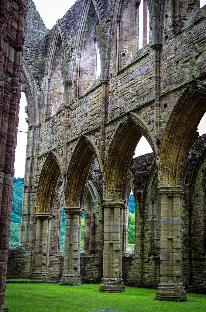 Tintern Abbey, Monmouthshire, Wales by -interiority