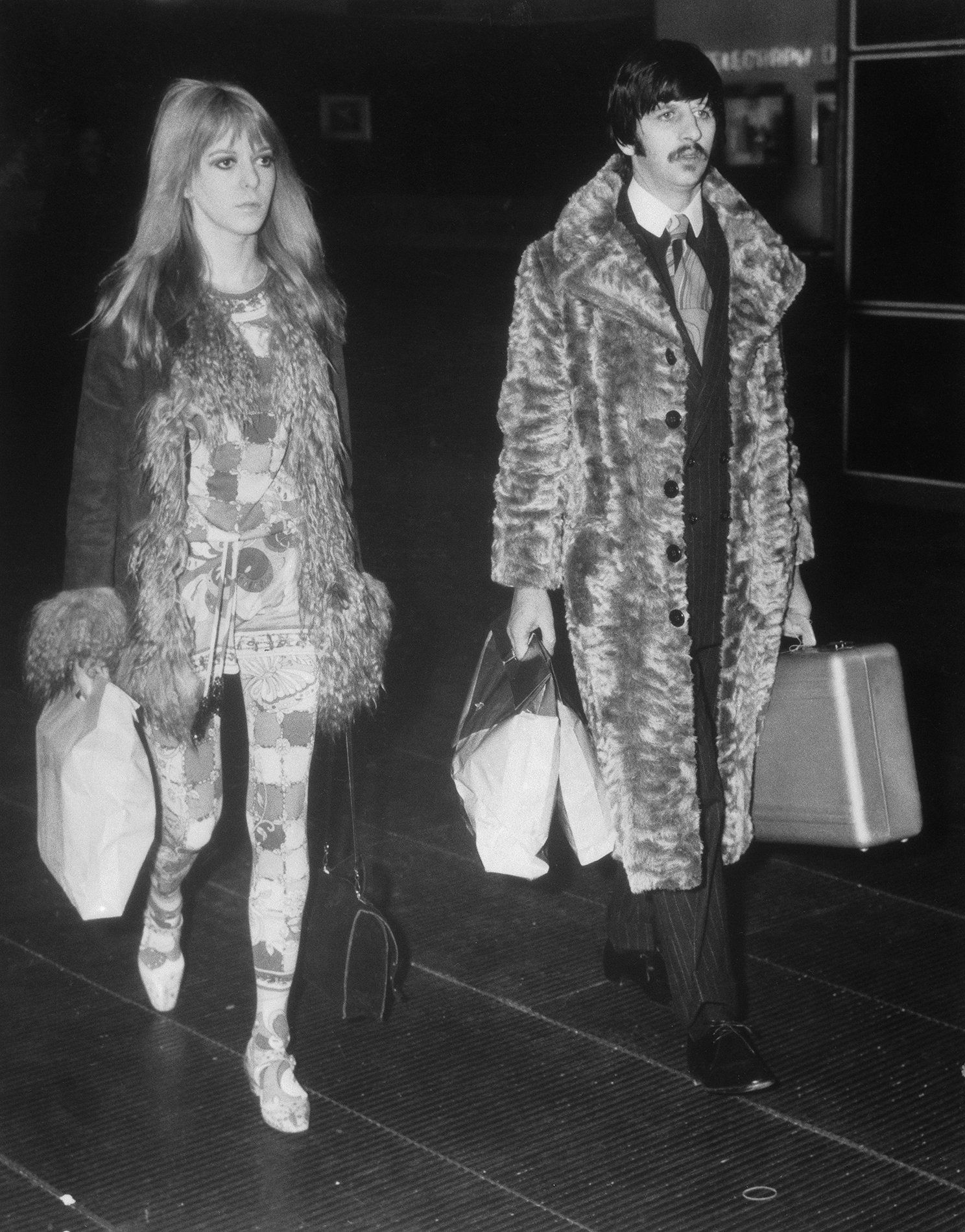 "Mary ""Maureen"" Cox Starkey & George Harrison"