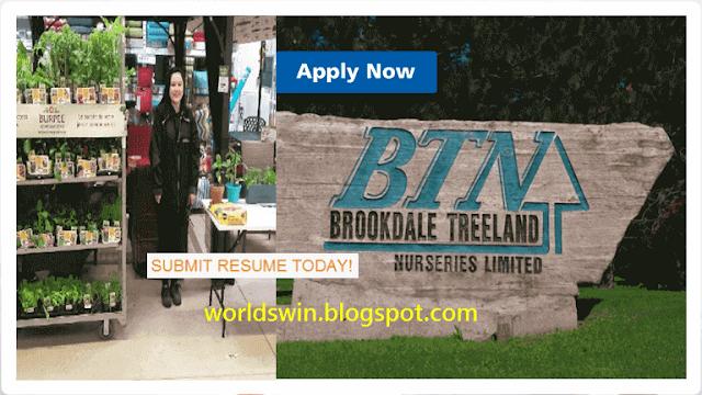 Brookdale Treeland Nurseries Limited Btn Canada Jobs Vacancy Jobs Australia Landscape Contractor Brookdale
