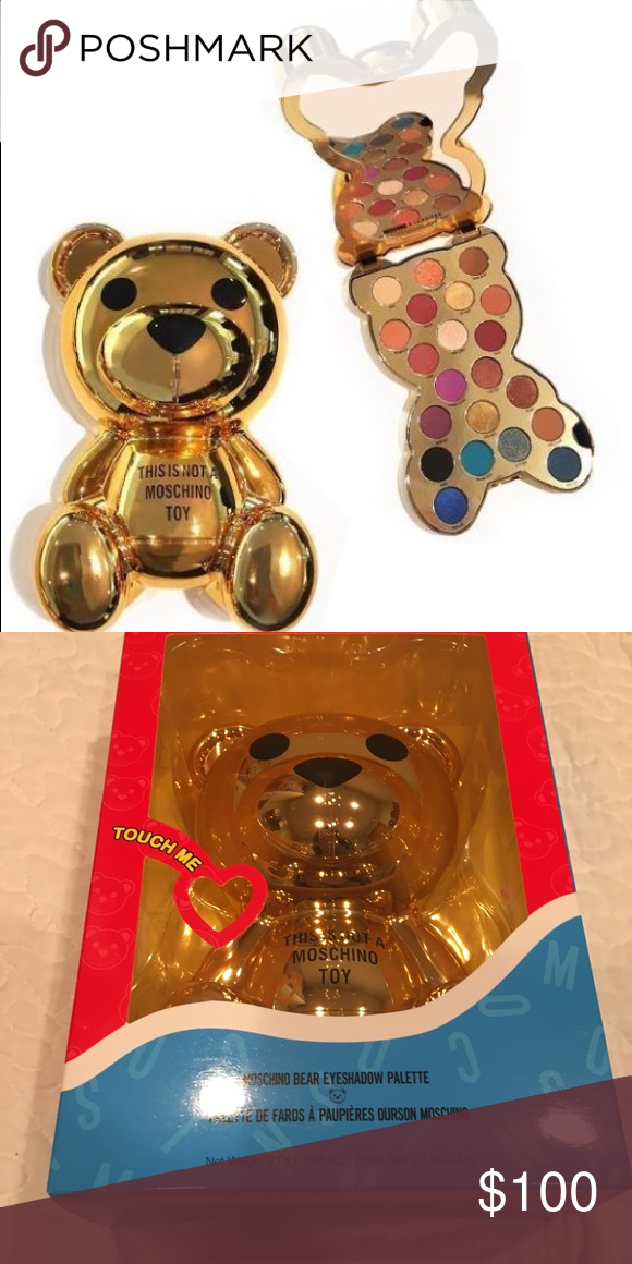 Moschino Bear Eyeshadow Palette Nwt In 2018 My Posh Picks