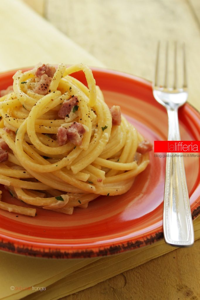 Spaghetti Alla Papalina Ricetta Facile E Veloce Leccornie Da