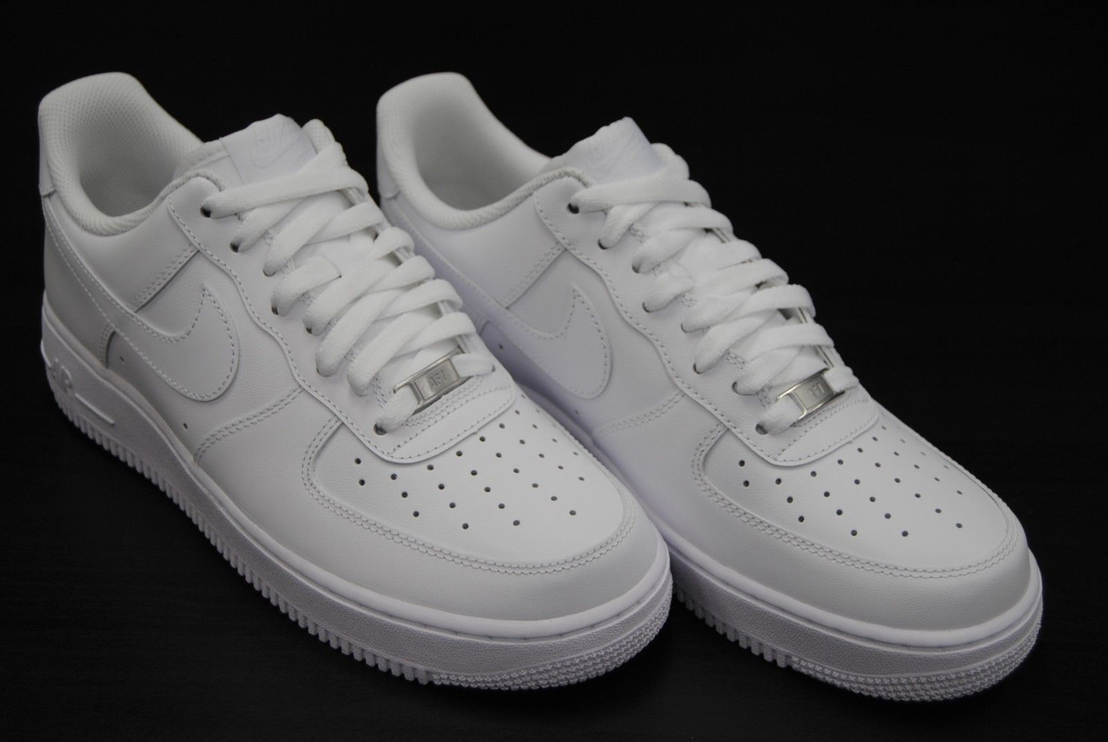 [315122 111] NEW MEN'S NIKE AIR FORCE 1 LOW '07 ALL WHITE /