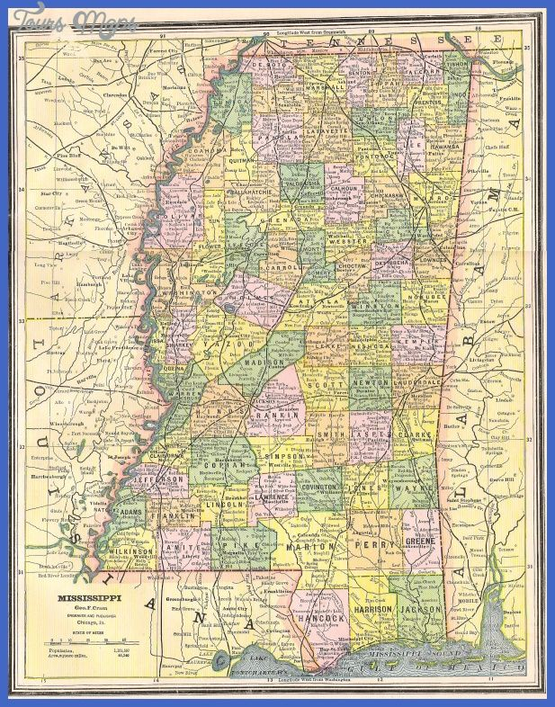 Cool Mississippi Map Maps Louisiana Map Us State Map Atlas Book