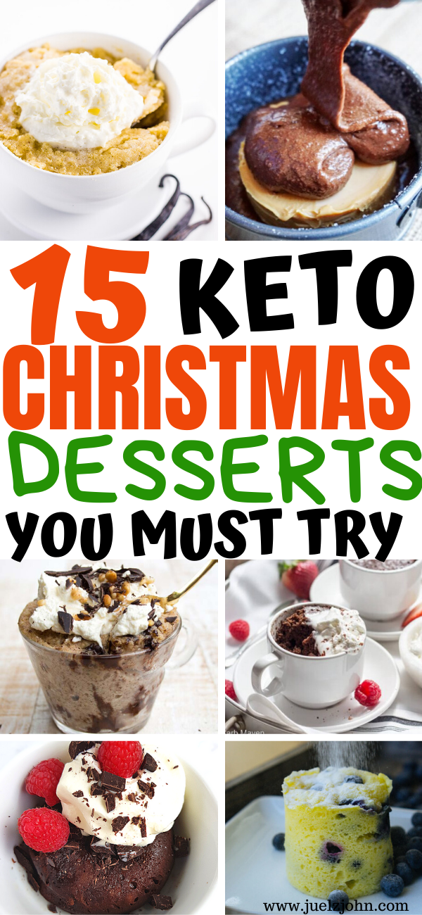 15 Delicious & Easy Keto Mug Cake Recipes You Won't Resist #ketodessert