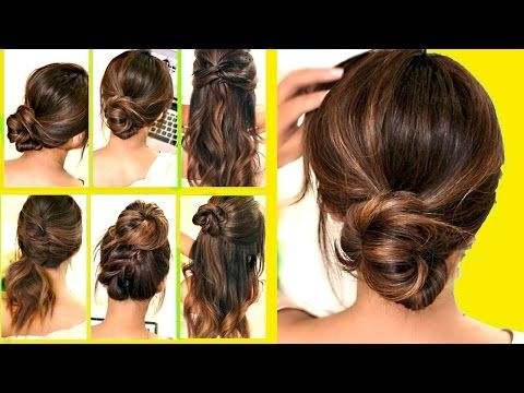 If You Re Running Late Or Feeling Totally Lazy You Ll Love These 10 Easy Peasy Hairstyle Ideas That Can Be Running Late Hairstyles Easy Hairstyles Hair Hacks