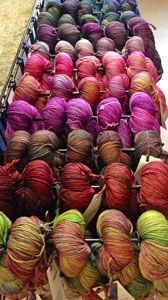 Malabrigo Arroyo -  a sport weight superwash - consider this the little brother of Malabrigo Rios.