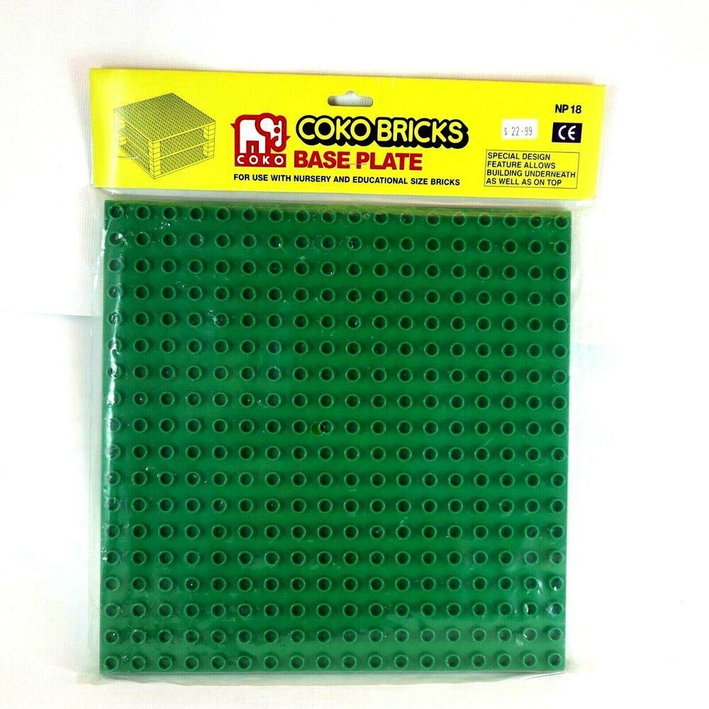 Coko Nursery Educational Bricks Base Plate for Standard
