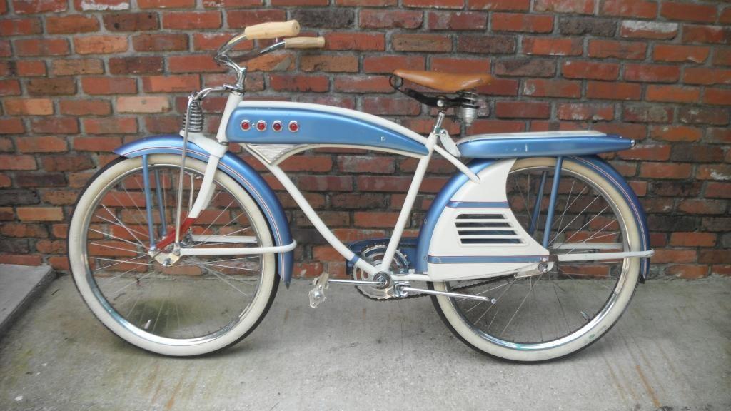 1950s J.C. Higgins Color Flow Tank Bike Bicycle Older