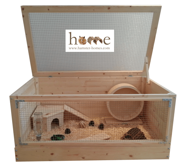 Wooden Hamster Cage Extra Large 90cm Made In The Uk Hedgehog Cage Hamster Cages Hamster Cage