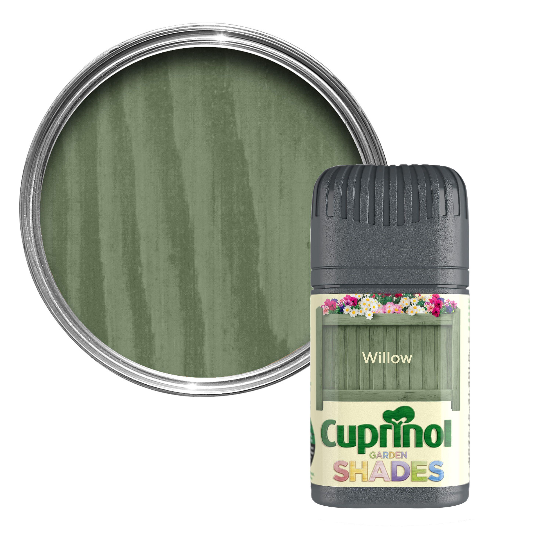 Cuprinol Garden Shades Willow Wood Paint 50ml Tester Pot