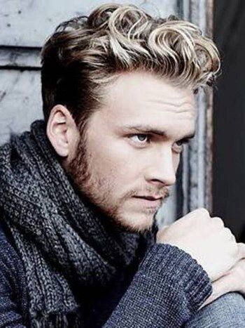 Mens Wavy Hairstyles Fascinating Pinallison Grady On Hair Ideas  Pinterest  Handsome Faces And