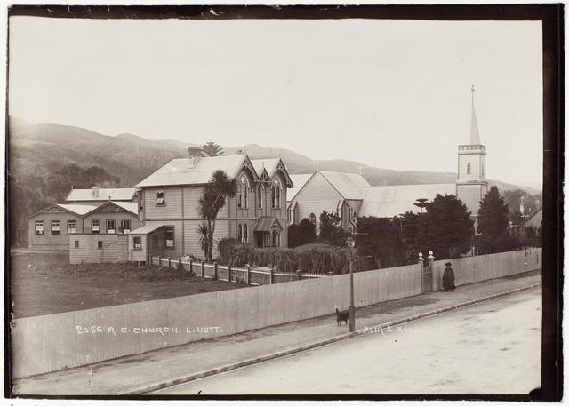 Object: Roman Catholic Church L.Hutt   Collections Online - Museum of New Zealand Te Papa Tongarewa