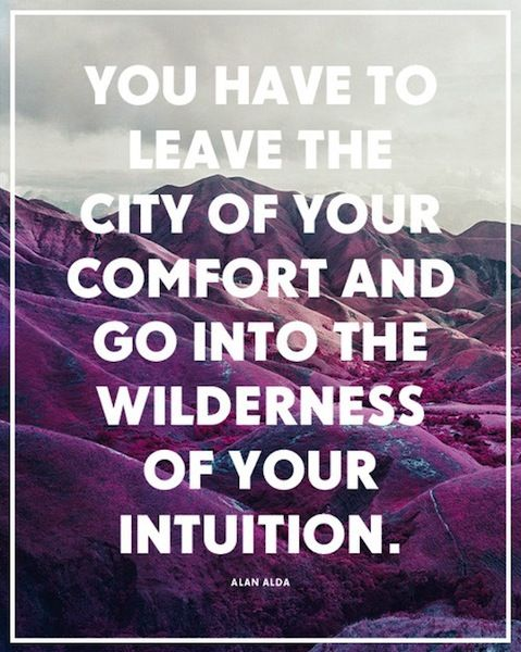 wilderness | of your intuition