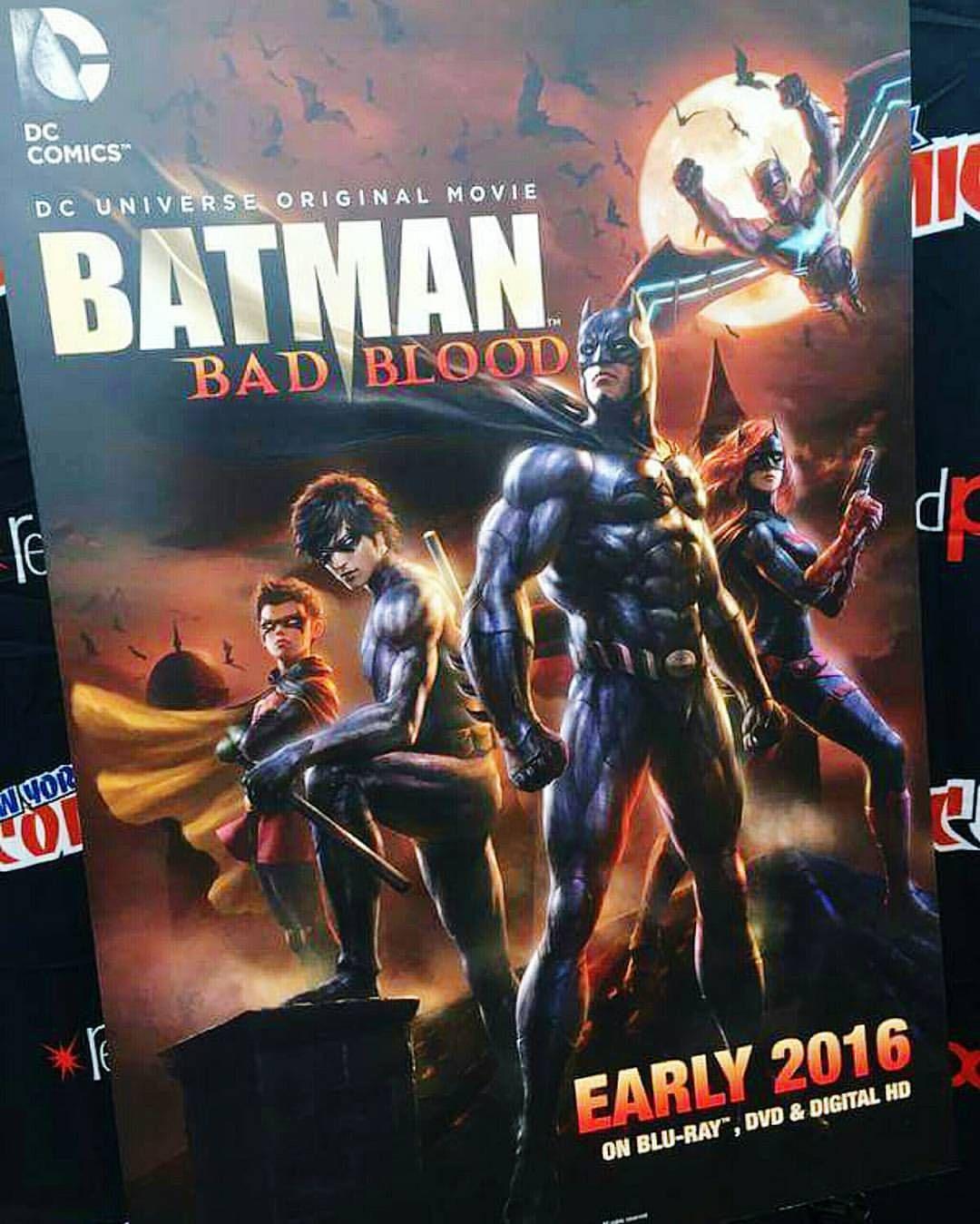 Merc With A Bat — More animated movie Batman: Bad Blood!  #Batman...
