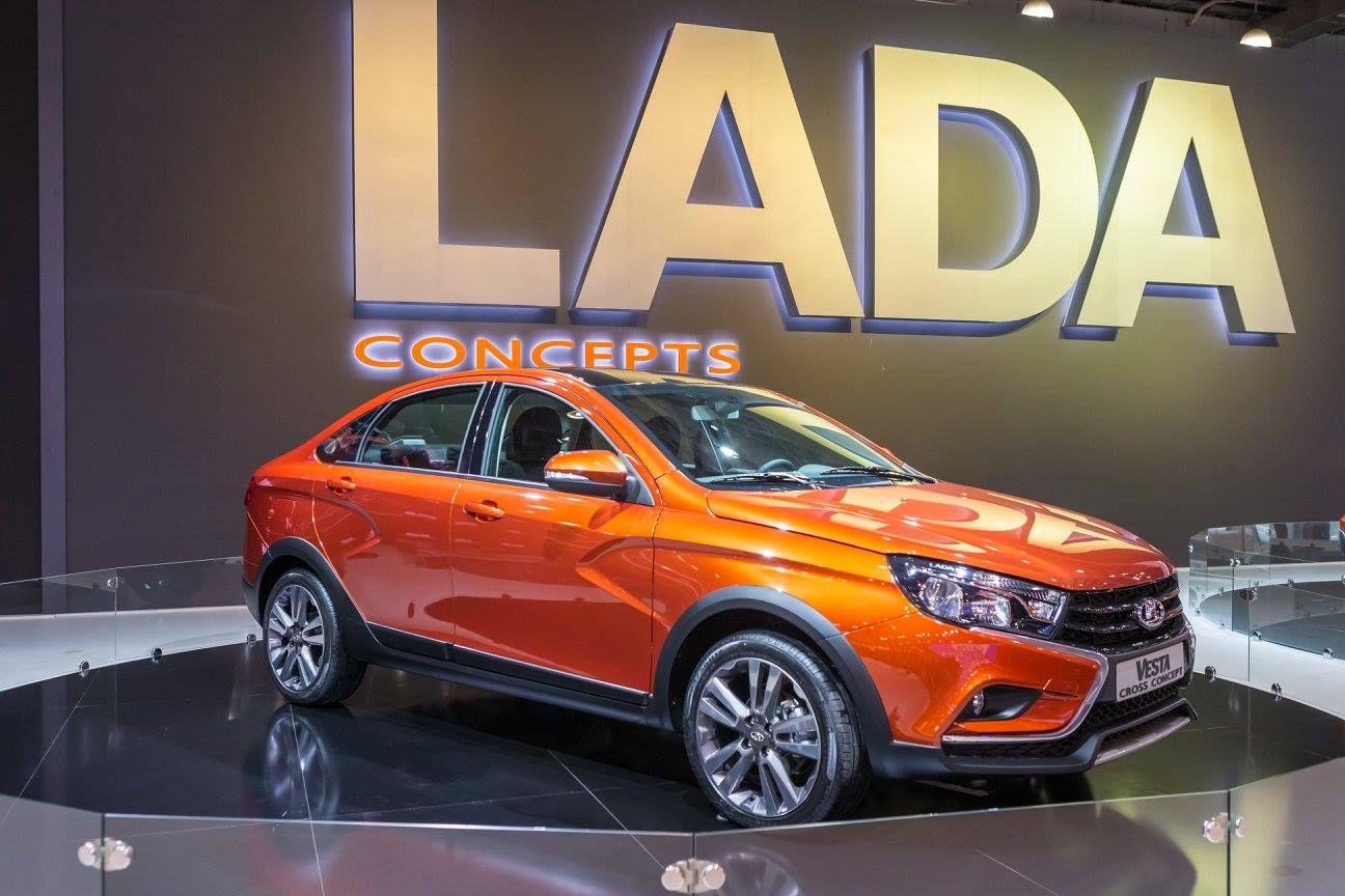 New Lada Xcode Joins Five Other Concepts At Moscow Show 92 Pics Carscoops Lada Vesta Vesta Sedan