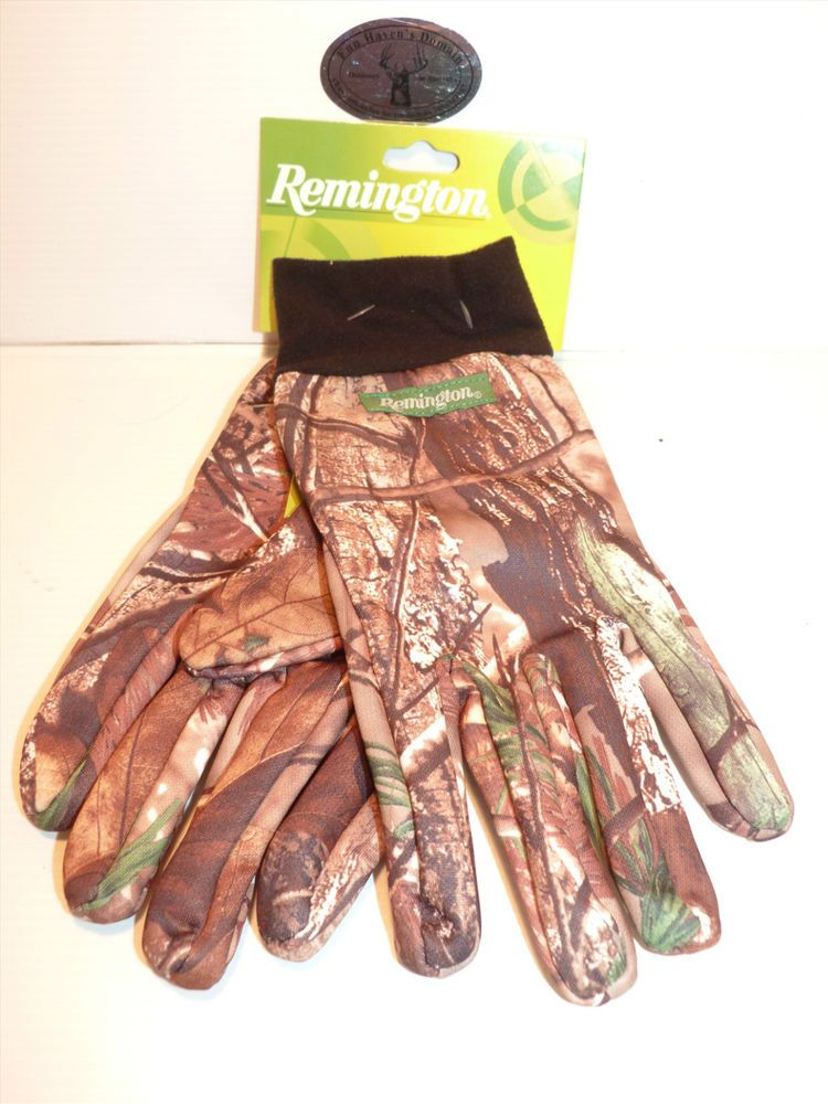Remington Hunting Fishing Shooting Gloves L Xl Lightweight Si