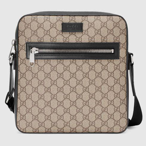 052f1a54022 GUCCI Gg Supreme Flat Messenger.  gucci  bags  leather  canvas ...