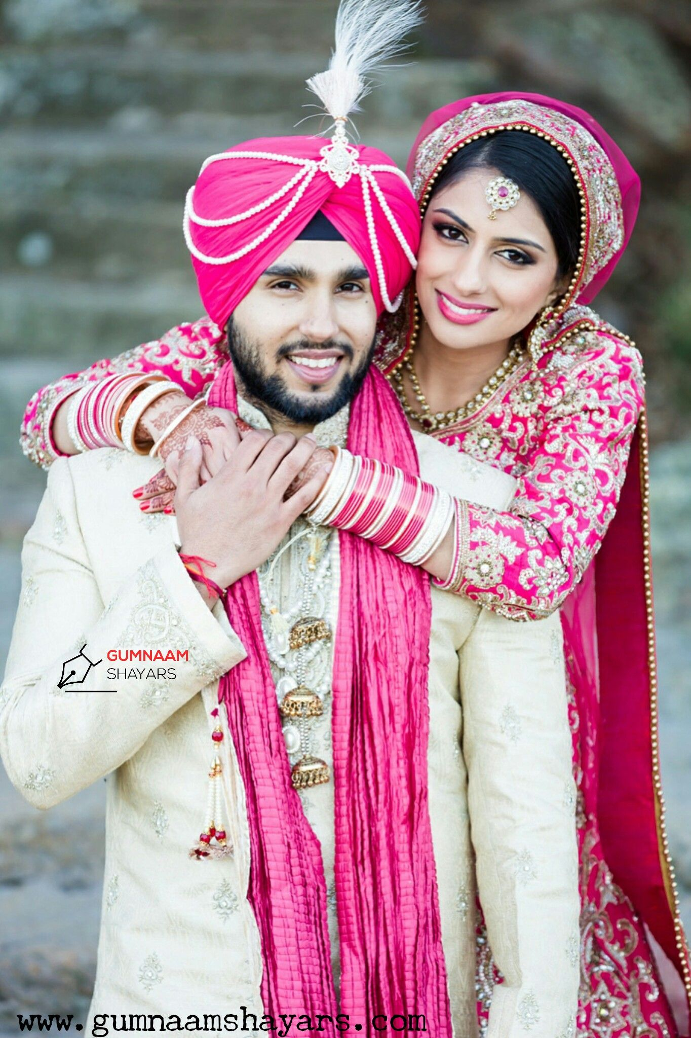 Pin de Gumnaam Shayars en Punjabi Couple | Pinterest