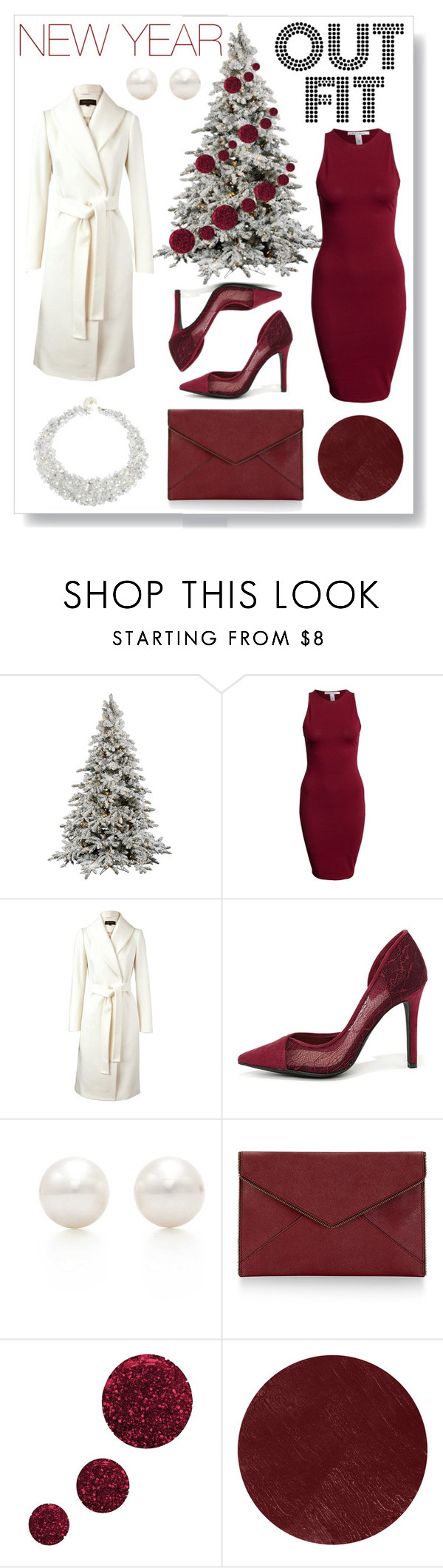 """""""New Year Outfit"""" by by-jwp ❤ liked on Polyvore featuring NLY Trend, Reiss, Jessica Simpson, Tiffany & Co., Rebecca Minkoff, Topshop, Burberry, AeraVida, Happiness and party_all_night"""