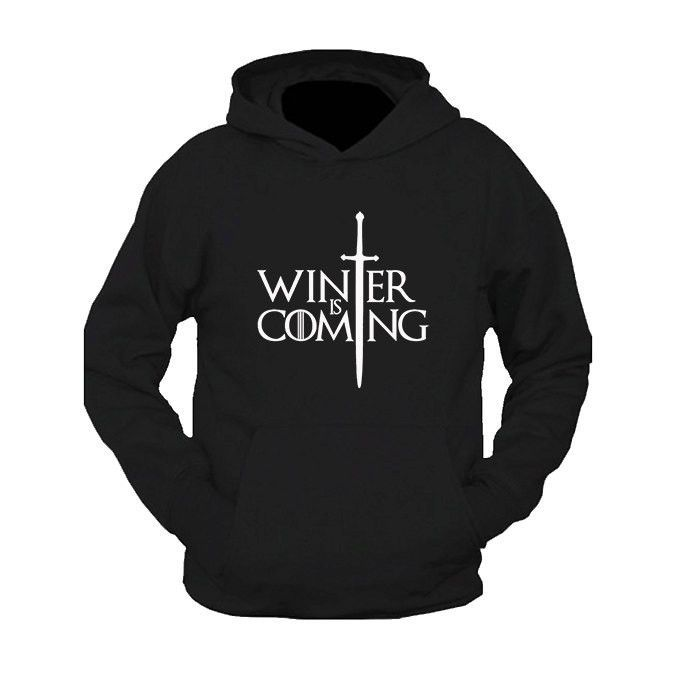 Game Of Thrones Winter Is Coming Hoodie Game Of Thrones Hoodie Game Of Thrones Sweatshirt Game Of Thrones Shirts