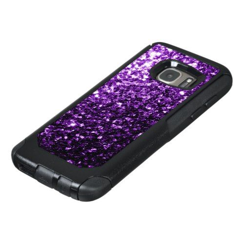 huge selection of b6d9c ac177 Beautiful Dark Purple glitter sparkles OtterBox Samsung Galaxy S7 ...