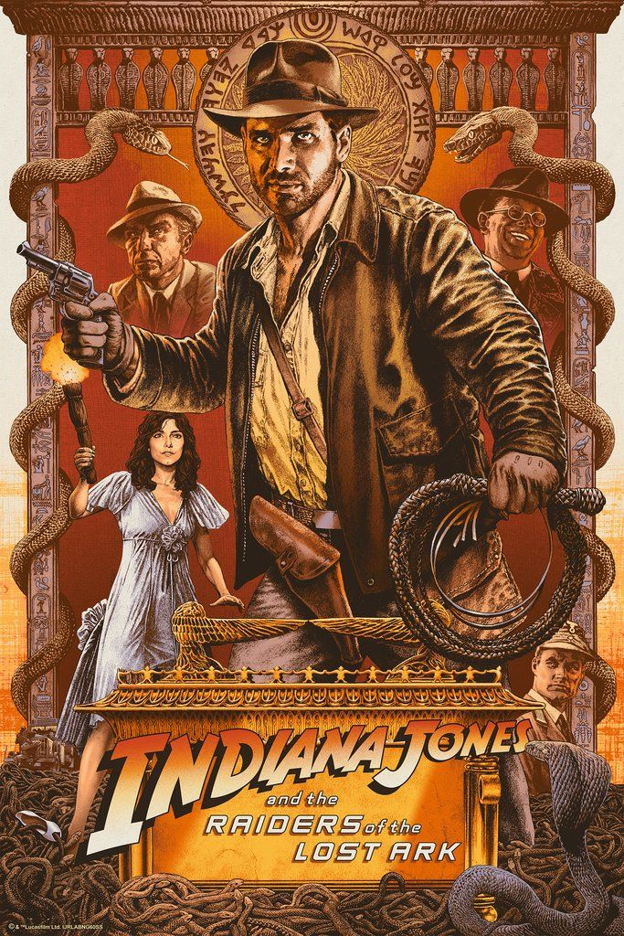 Indiana Jones And The Raiders Of The Lost Ark 1981 600 X 800 Indiana Jones Films Indiana Jones Indie Movie Posters