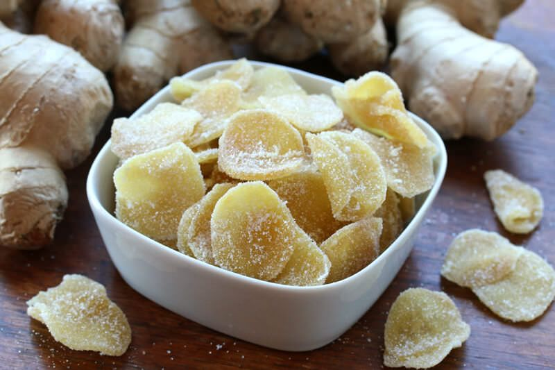 How To Make Candied Ginger Recipe Ginger Recipes Crystalized Ginger Recipe Snacks