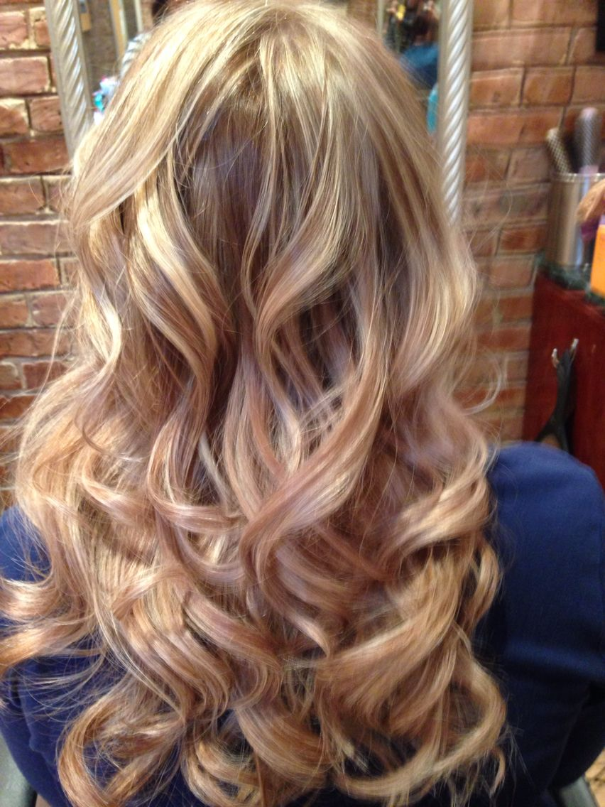 Bleach Blonde High Lights With Brown Low Lights My Pins