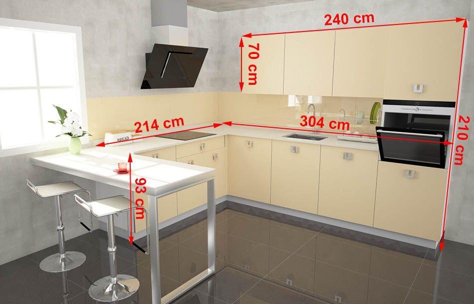 cocina peninsula medidas - Buscar con Google | Sizes | Pinterest ...