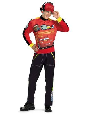 Disney Cars Lightning Mcqueen Adult Costume Adult Disney Costumes