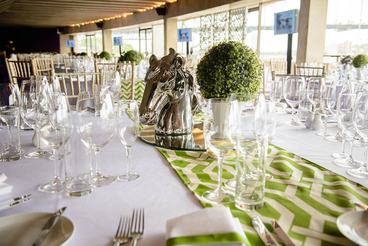 Sydney Opera House Northern Foyer : Perfectly themed centrepieces for melbourne cup concert