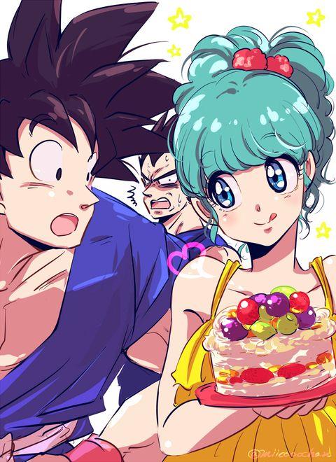 Db 8 pixiv goku vegeta bulma - Goku e bulma a letto ...